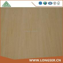 Furniture and interior decoration 4x8 feet beech veneered plywood