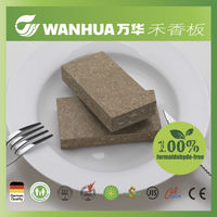 Super green E0 grade weight of particle board