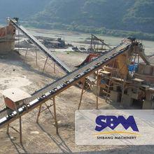 SBM jaw crusher for making granules of coal leading global