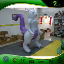 Hot sale Inflatable cat ,giant inflatable cat,inflatable standing cat,inflatable cartoon toys