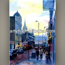 2013 new top sale paris street painting