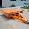 China motorized industrial transfer trailer