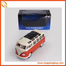 Caliente venta 1:24 escala diecast metal de juguete autobús escolar con licencia diecast de juguete PB067125052A