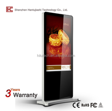 Full HD Floor Standing Multi-Touch All-In-One Digital Signage Display Stands / Kiosk 3G/WIFI Advertising Player