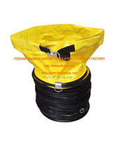 300mm yellow fire resistant industrial pvc flexible duct