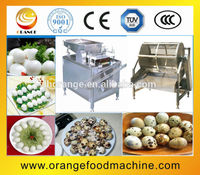 automatic quail egg shell removing machine