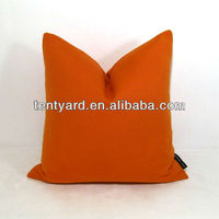 sofa back cushion covers orange