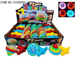 Popular latest led spinning top