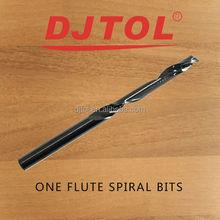 One Flute Spiral Bits