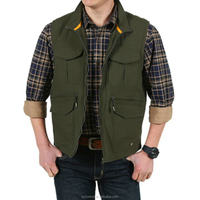 blank wholesale custom fly fishing vest design