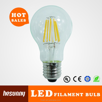 Hangzhou linan star lighting CE RoHS 85-265V E27 8W led filament bulb