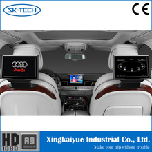 10inch headrest rear seat car pillow tft lcd monitor for Audi A8