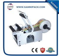 Hot selling great quality semi automatic labeling machine for round bottle