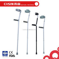 Orthopedic forearm crutches adjustable elbow crutch