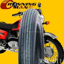Size 3.00-18 Motorcycle Tyre With ISO900