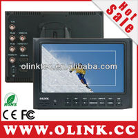 OLINK DSLR Clip on LCD Field Monitor with HDMI, YPbPr Inputs