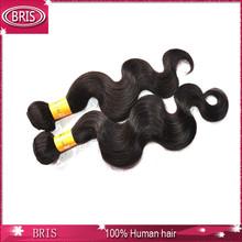 good feedback large stocks top quality body wave 100% virgin indian hair