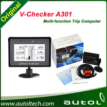 2015 Top Rated V-CHECKER VCHECKER V CHECKER A301 OBD Scanner with LCD Screen and Multi-Function