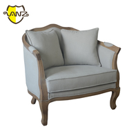 New design of french provence chic single seater sofa VZL011