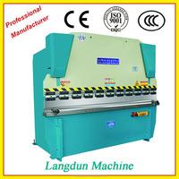 Europe CE standard 2015 new hydraulic steel sheet folding machine