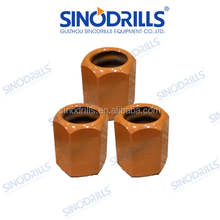 SINODRILLS T76 Self Drilling Anchor Bar Collar Nut for Tunneling and Grouting