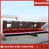 affordable low cost modular military camp prefabricated modular home steel container