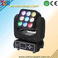 LED moving head disco light led matrix blinder moving head 3x3 pieces leds