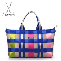 Butwhy colourful candy tote bag 6066 the fashion bag for ladies