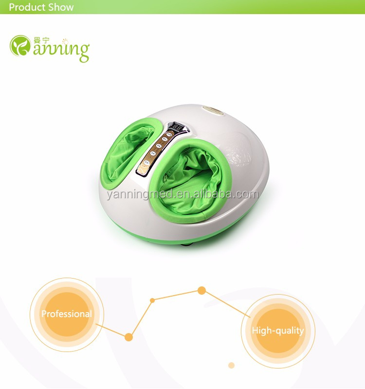 New style 3D kneading air pressure electric heated foot spa massager