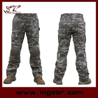 2015 New Men's ACU Camouflage Army trousers Combat Uniform Pants