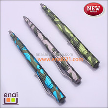 emergency tungsten steel top hard anodic oxidation emergency tool weapon tactical pen