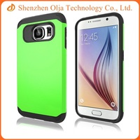 Wholesale cheap plastic hard back cover tpu clear mobile phone case for Samsung galaxy s6 edg