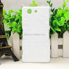 3D blank sublimation phone case for sony xperia Z3 MINI ,DIY phone cover,3D phone bag