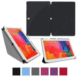 """2015 UltraSlim Leather Smart Shell Case Cover for Samsung Galaxy Tab PRO 10.1"""" SM-T520"""