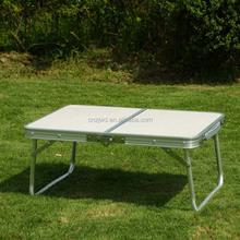 Pequeño corea mesa plegable de aluminio