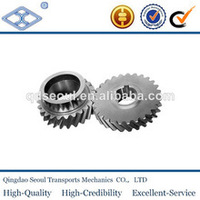 SS6-24 M6 JIS standard stainless steel metal involute hardened gear wheel