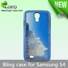 Best price fashion sublimaiton bling case for Samsung galaxy S4
