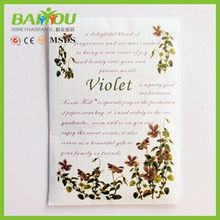 2015 new products many scents for your choice fragrance scented sachet envelope