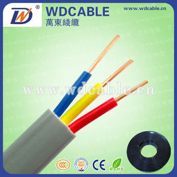 Low voltage RVV power cable/ electric wire PVC insulation