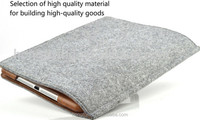 Soft Felt tablt case shockproof cover for iPad Air