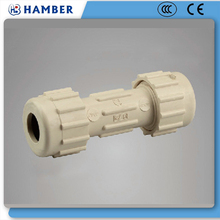 CPVC pipe and fitting HB GS125 CPVC Compression Coupling pvc water pipe