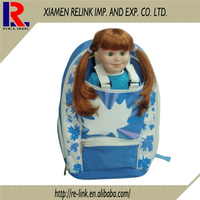 New design Cute and lovely cartoon drawing set school bag