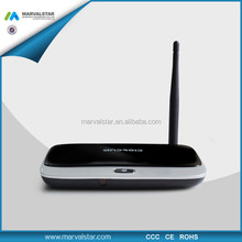 high performance Quad Core Smart Android 4.4 tv box test RK3188T 1GB +8GB Built-in Bluetooth