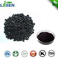 ISO Factory Supply Natural Black Bean peel Extract Black Bean peel Extract Black Bean Extract