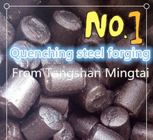 2015 wearable low chromium grinding forgings for cement plant