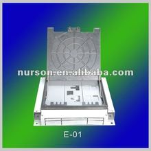 floor box cover and floor outlet boxes and enclosures