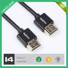 Gold plated awm 20276 high speed hdmi cable 1.3