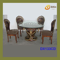 victorian style resin dining table set