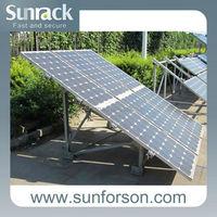 soild mounting solar bracket, solar power product