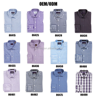 2015 new model 100% men's cotton dress shirt from chinese factory
